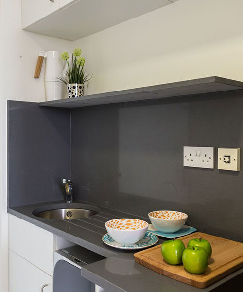 Chapter-Kings-Cross-kitchen at malvern house london accommodation