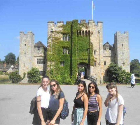 English school London social activities