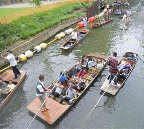 London Social Programme boat
