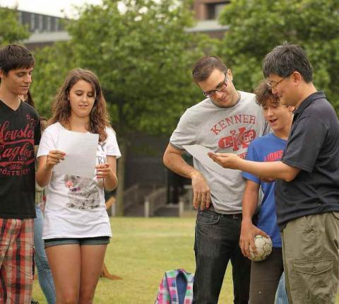 London Social Programme Games Outside