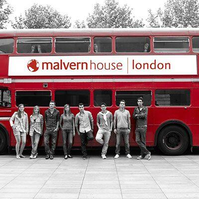 studnet bus at malvern house london