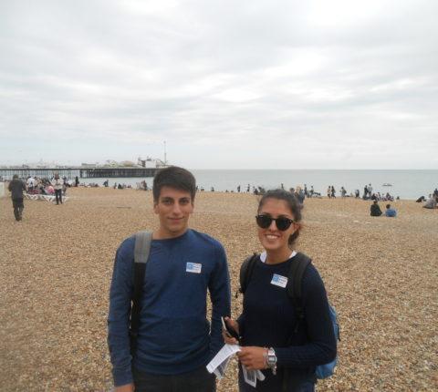 malvern house london students visit at brighton coastal