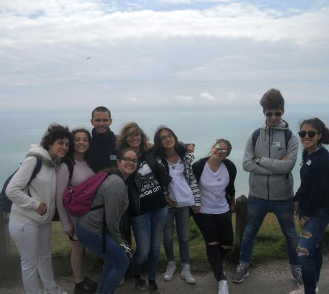 malvern house london students visit at brighton coastal