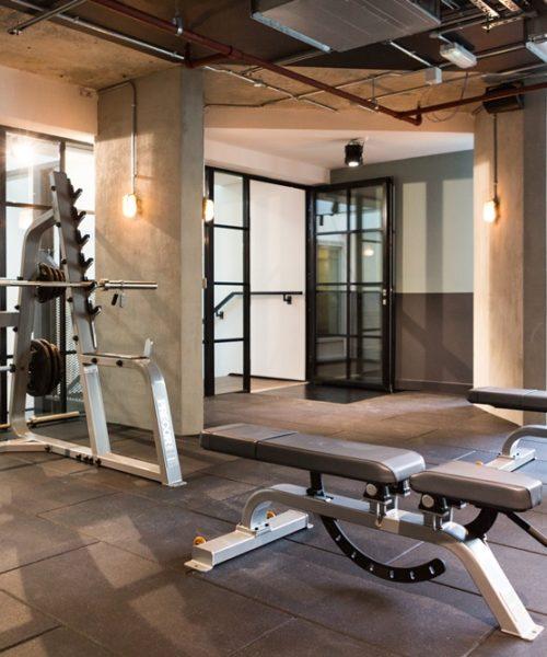 malvern house Scape Shoreditch accommodation gym