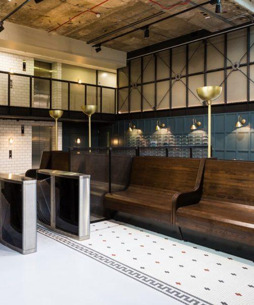 malvern house london Scape Shoreditch accommodation lobby
