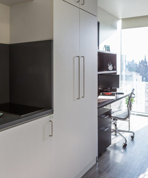 malvern house london king cross accommodation kitchen area