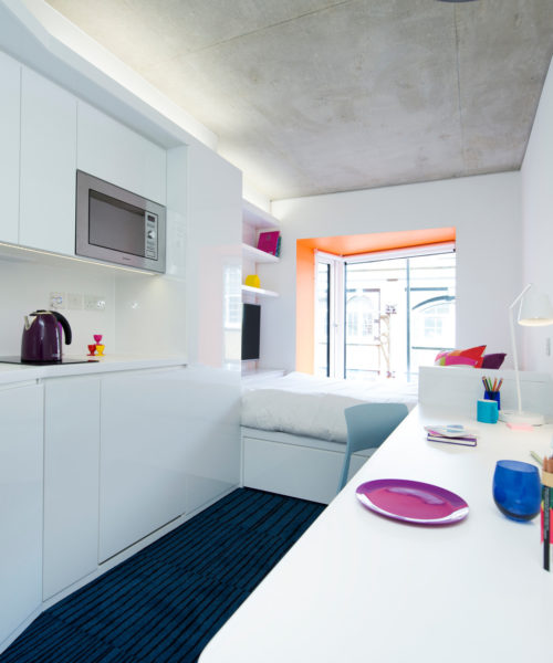 malvern house london accommodation scape shoreditch kitchen