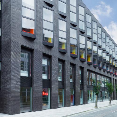 malvern house london scape shoreditch accommodation building