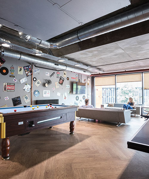 unite-st.-pancras-common-room-table-tennis malvern house london accommodation