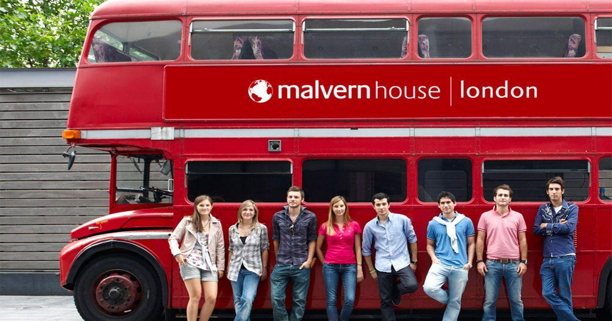 Malvern house london bus